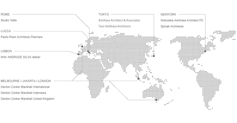 A-ARCHITECTS.NET MAP